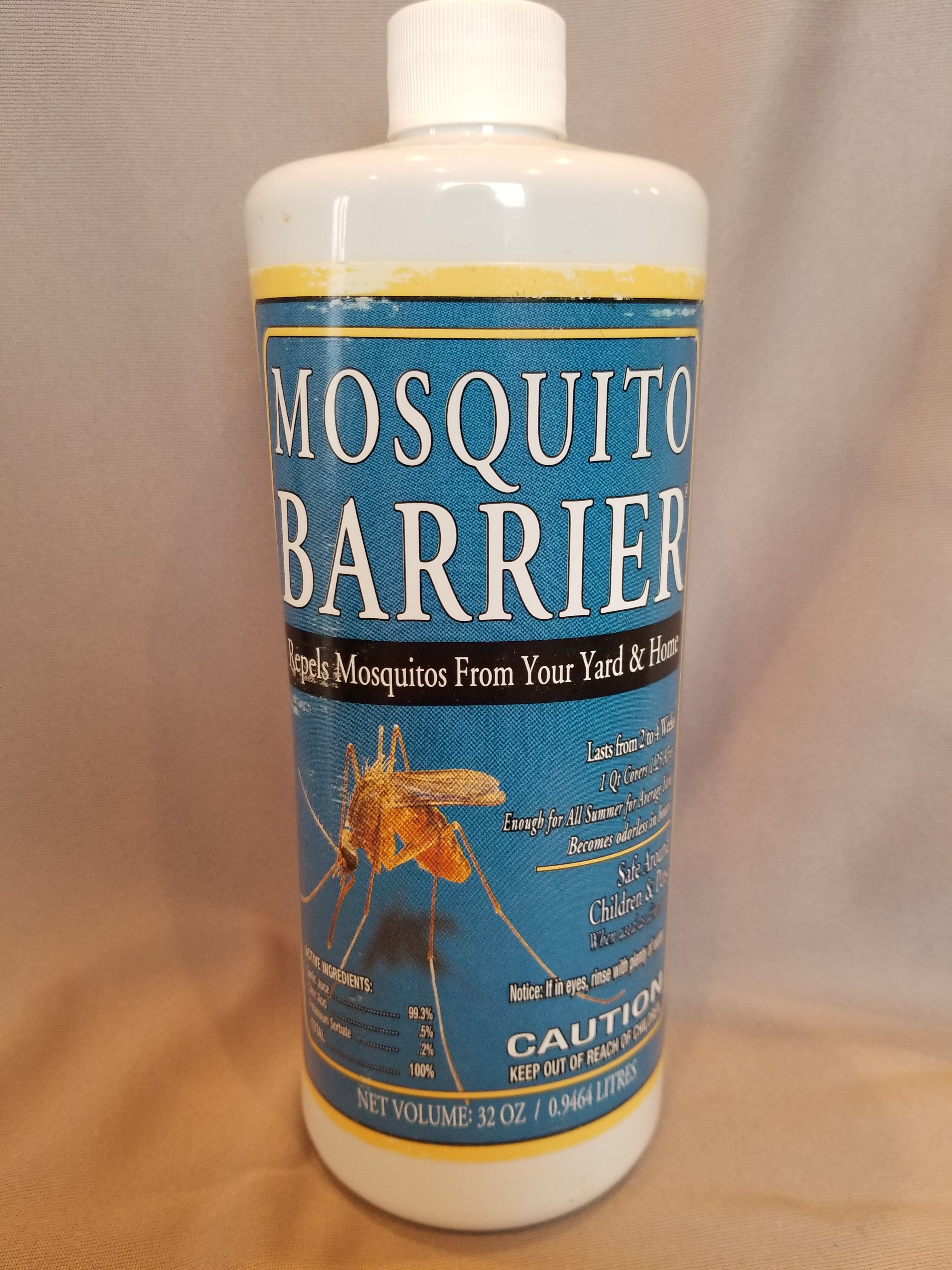 Mosquito Barrier (garlic juice)