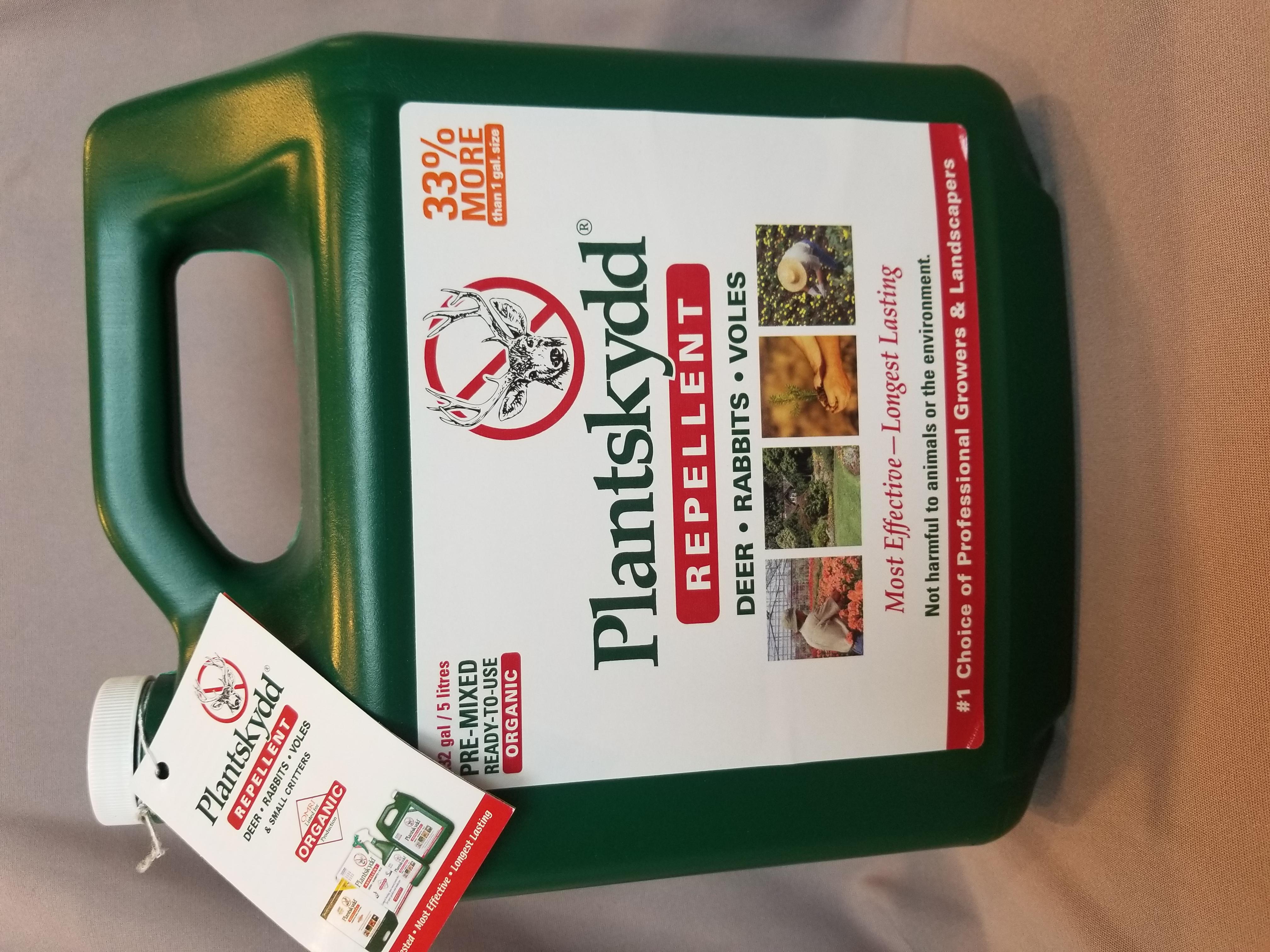 Plantskydd -- liquid deer repellant