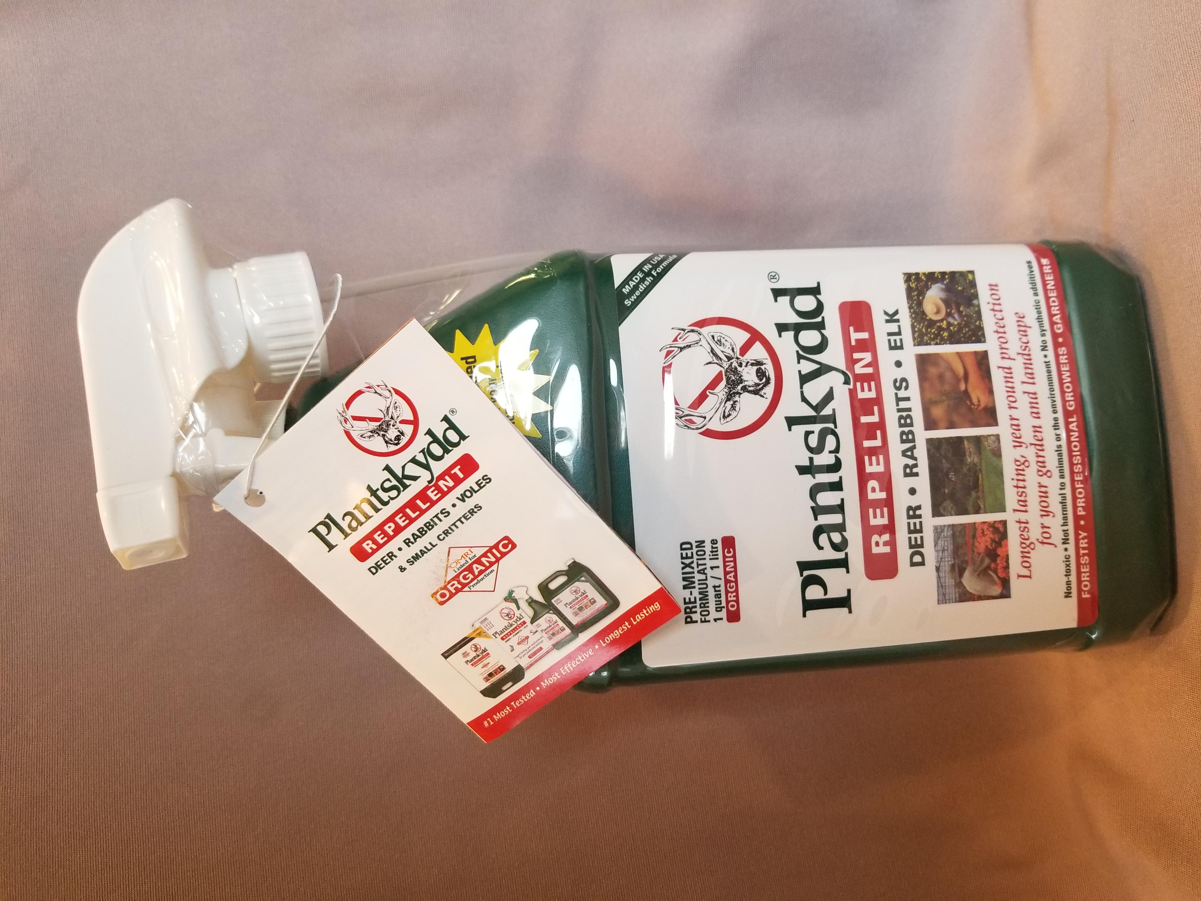 Plantskydd - liquid deer repellant